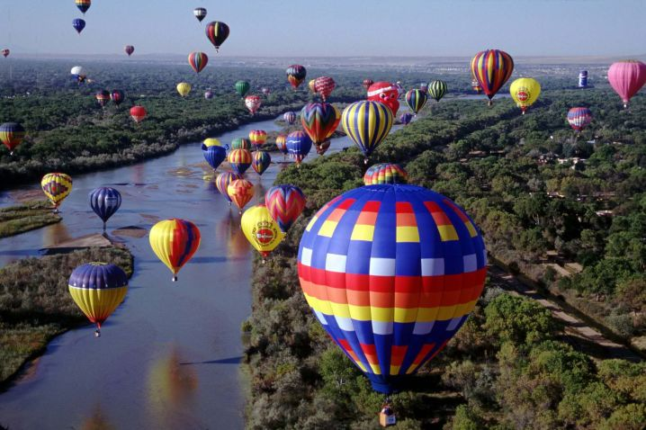 hot air ballooners paradise