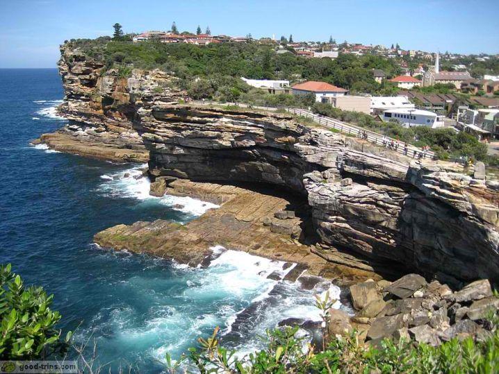 majestic ocean cliff