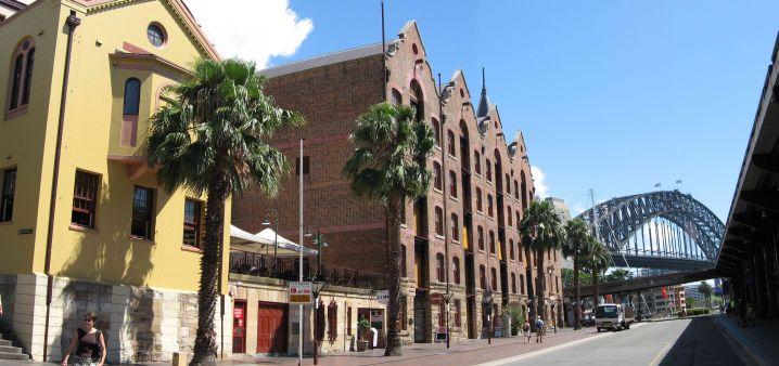 Historic area of Sydney