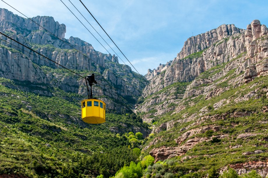 Montserrat Mountain and abbey