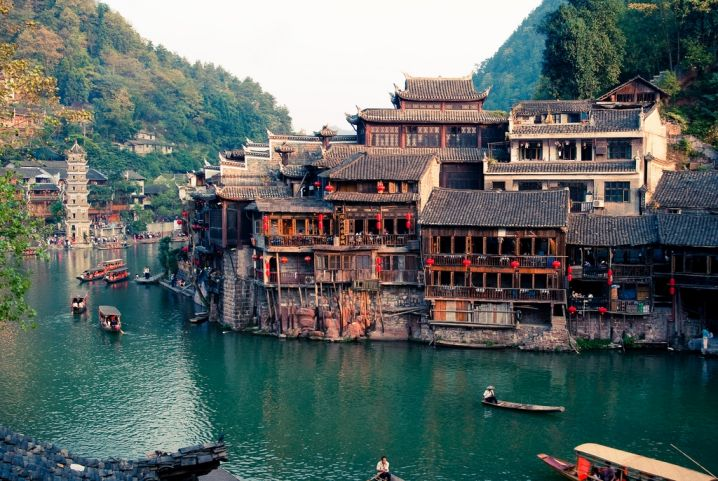 beautiful stilted houses