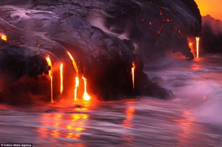 volcanoes in Hawaii