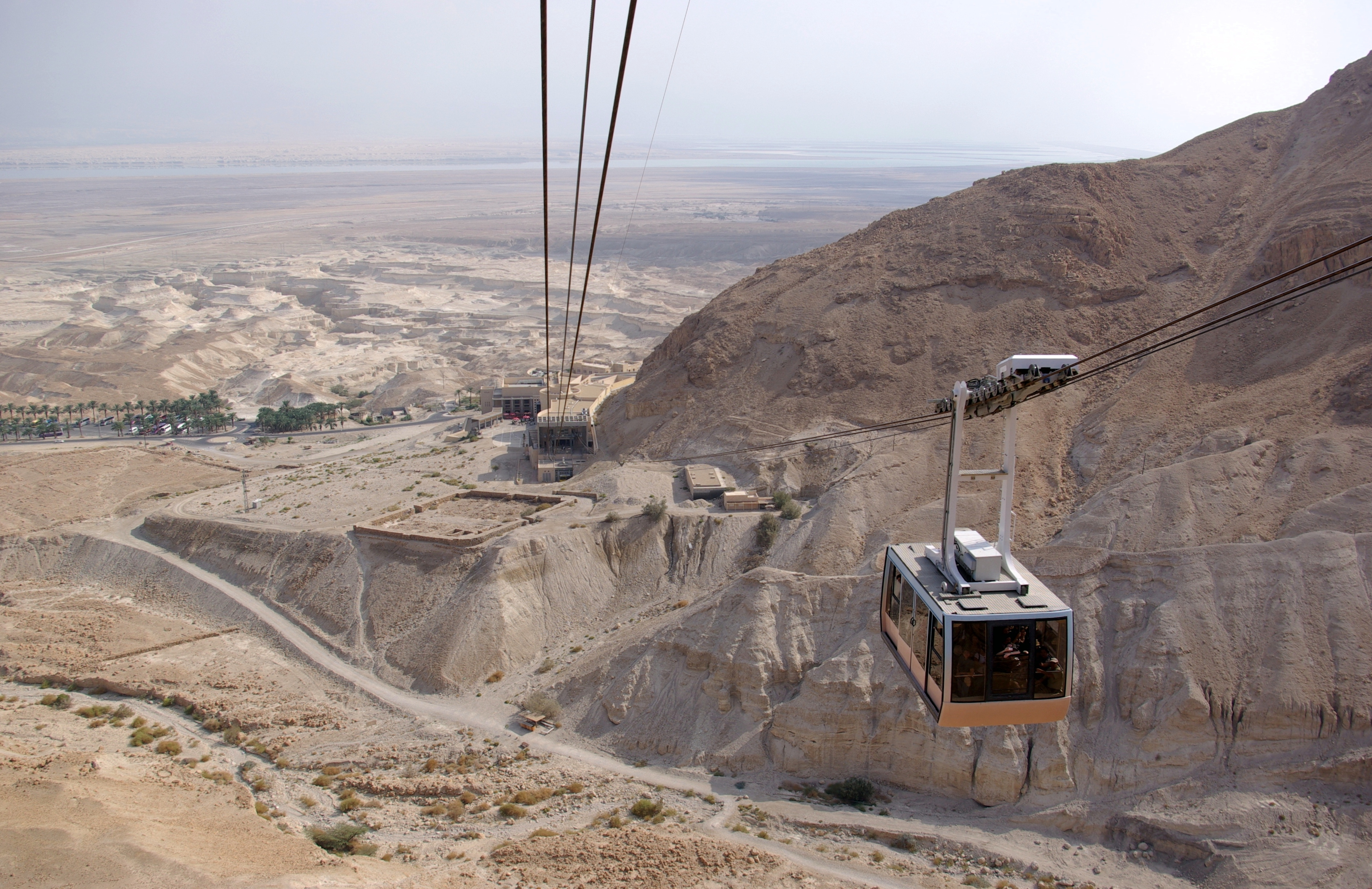 lowest cable ride in the world