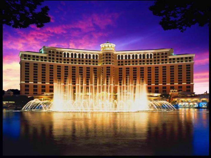 luxurious hotel in Vegas