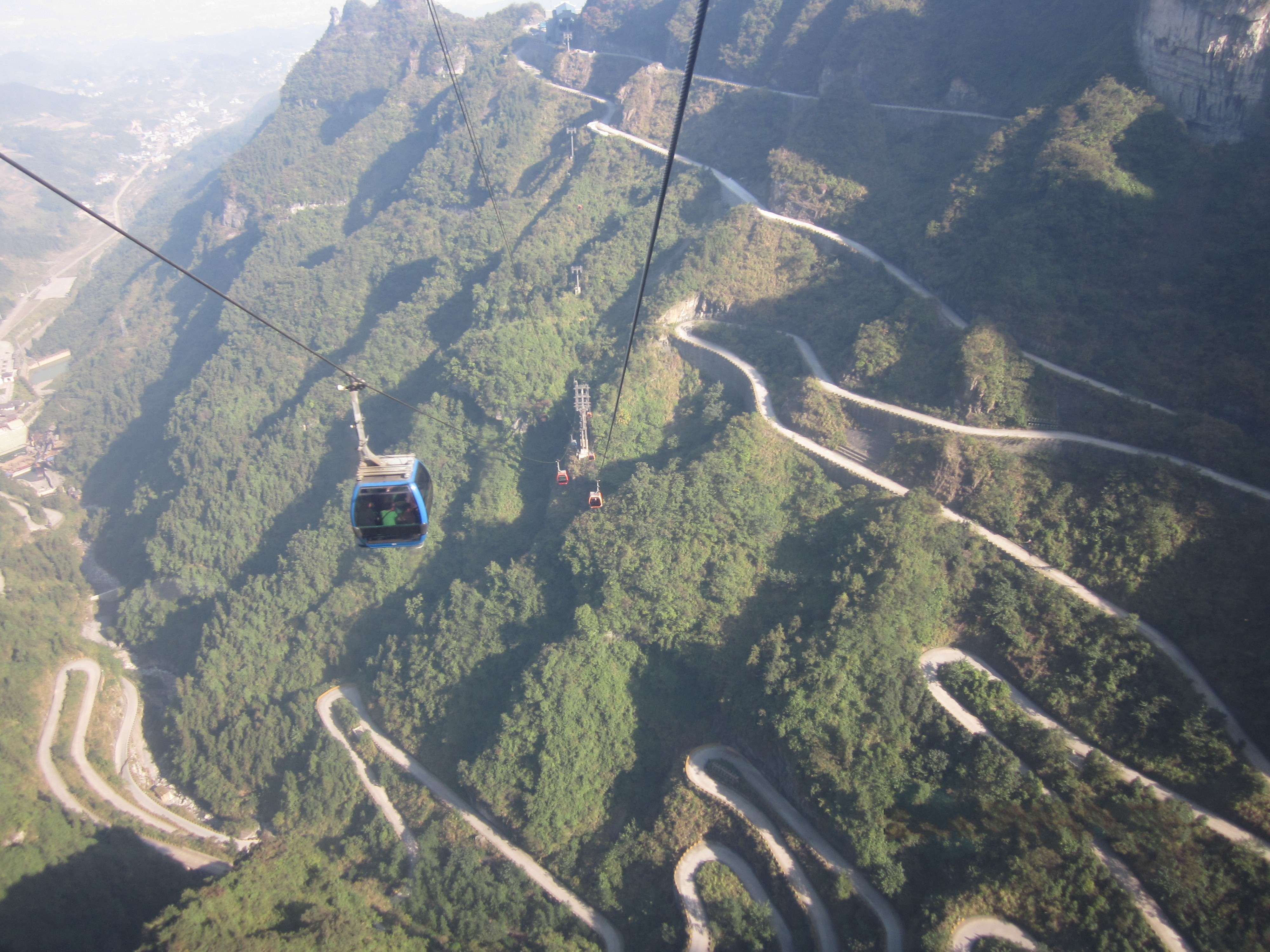 highest cable way in the world
