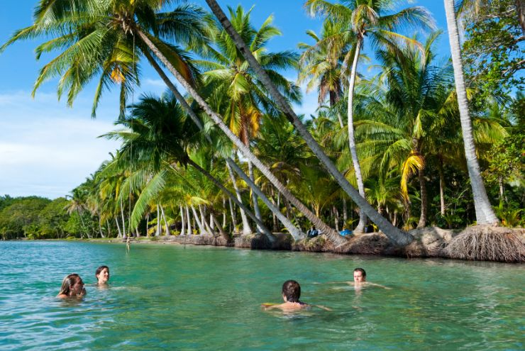 The capital of the Bocas del Toro Province