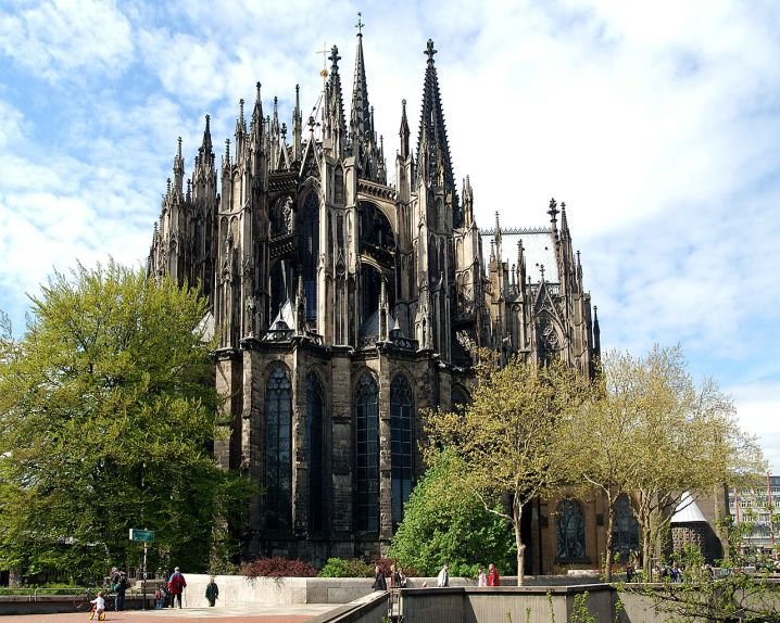 magnificent church in Germany