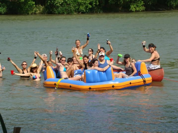 White Water Rafting in Bozeman