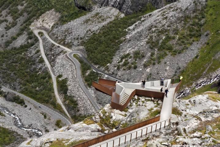 Trollstigen in Western Norway