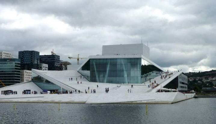 Watching Opera at the Oslo Opera and Ballet