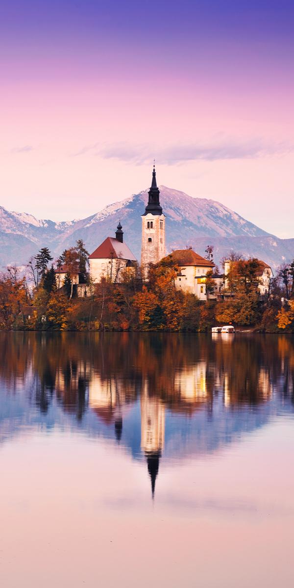 beautiful alpine resorts